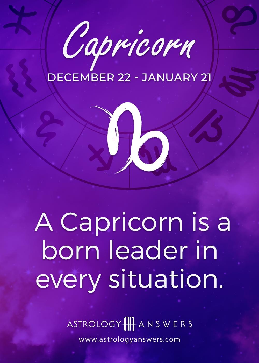 Capricorn astrology