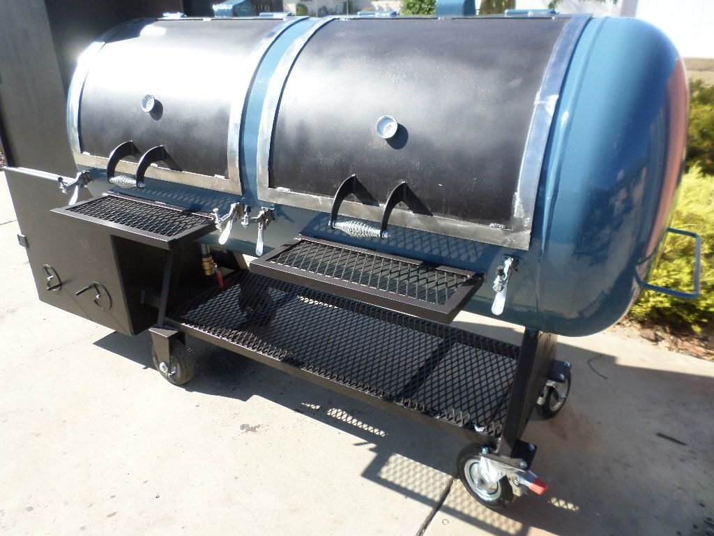 Reverse Flow Smoker | Smokers And Grills | Bbq grill
