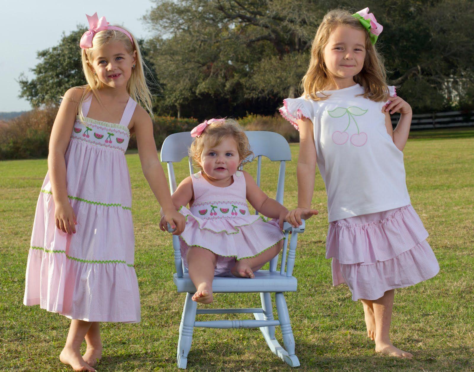 Image result for smocked girls dress Children clothes