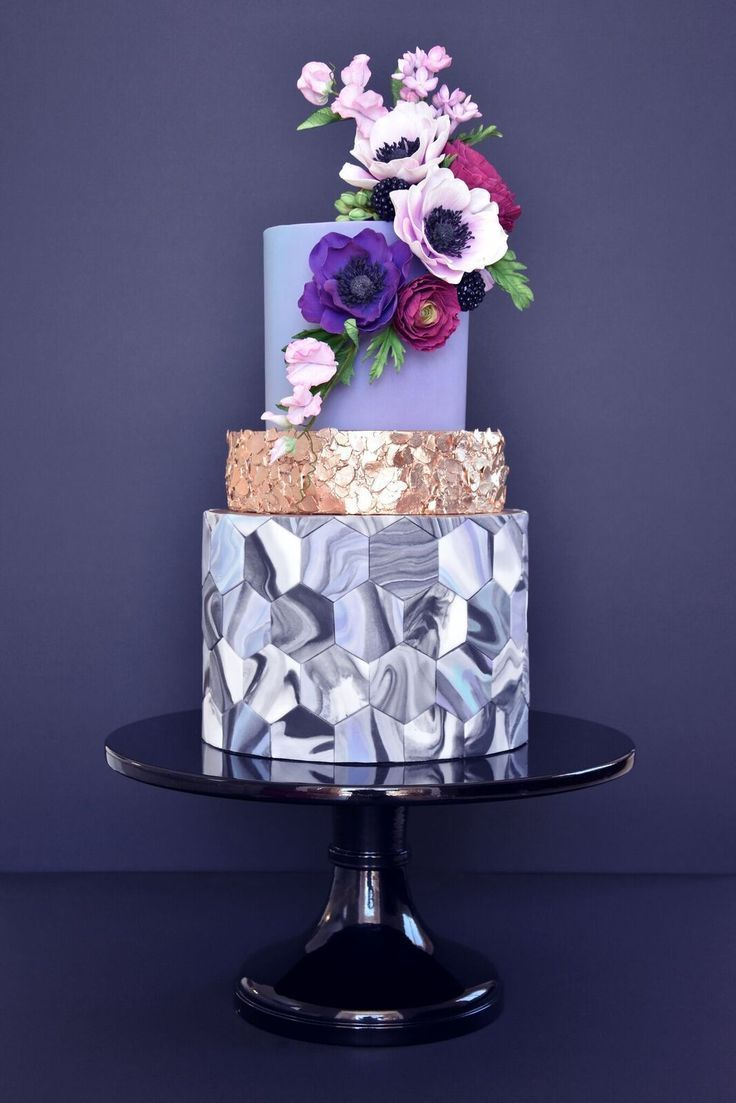 Indian weddings inspirations purple wedding cake repinned by