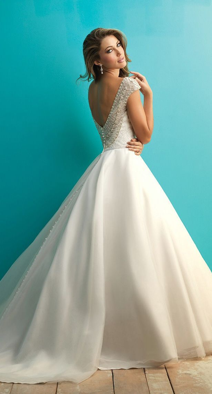 Trend Alert: 22 Stunning Designer Wedding Dresses   Allure bridal ...
