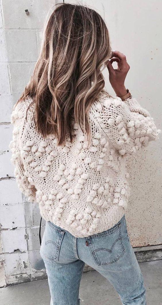 Pom Pom sweater - #bagschanel #bagslouisvuitton #bagsgucci #bagscoach #handbags #purses #bagsmichaelkors #totebag #bagstote #crossbodybags #bagscrossbody #bagsysl #messengerbag #backpackpurse #bagshermes #purse