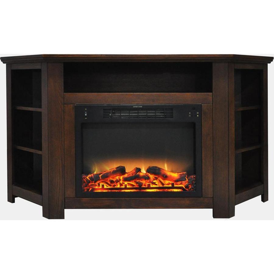 Cambridge 559in w walnut fanforced electric fireplace