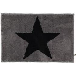 Photo of Rhomtuft Badteppich Star graphit/anthrazit – 1353 – 60×90 cm Rhomtuft