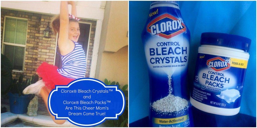 Clorox Bleach Crystals And Clorox Bleach Packs Are This Cheer Mom S Dream Come True Totalbleachcontrol Clorox Bleach Cheer Mom Clorox