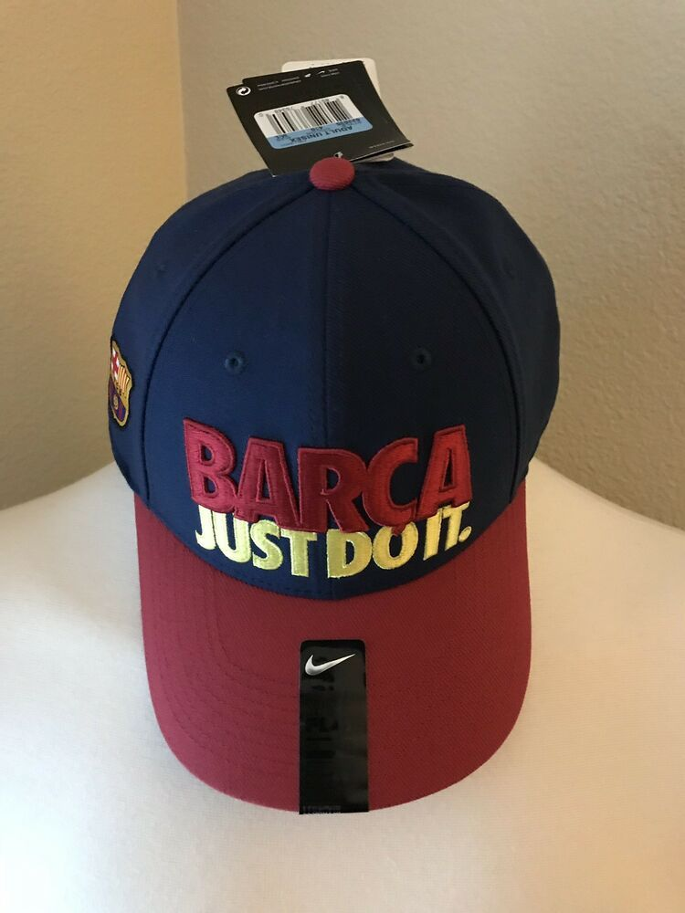 Nike FC Barcelona Just Do It Fitted Cap Hat navy  fashion  clothing  shoes   accessories  mensaccessories  hats (ebay link) 3e8c40bf16d