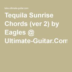 recipe: tequila sunrise strumming pattern [31]