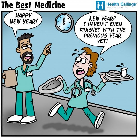 The Best Medicine Hilarious Healthcare Cartoons New Year S Eve