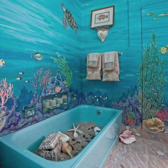 Under the sea bathroom bathrooms pinterest ideas for Under the sea bedroom designs