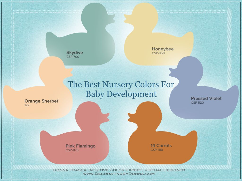 Best Nursery Colors For Baby