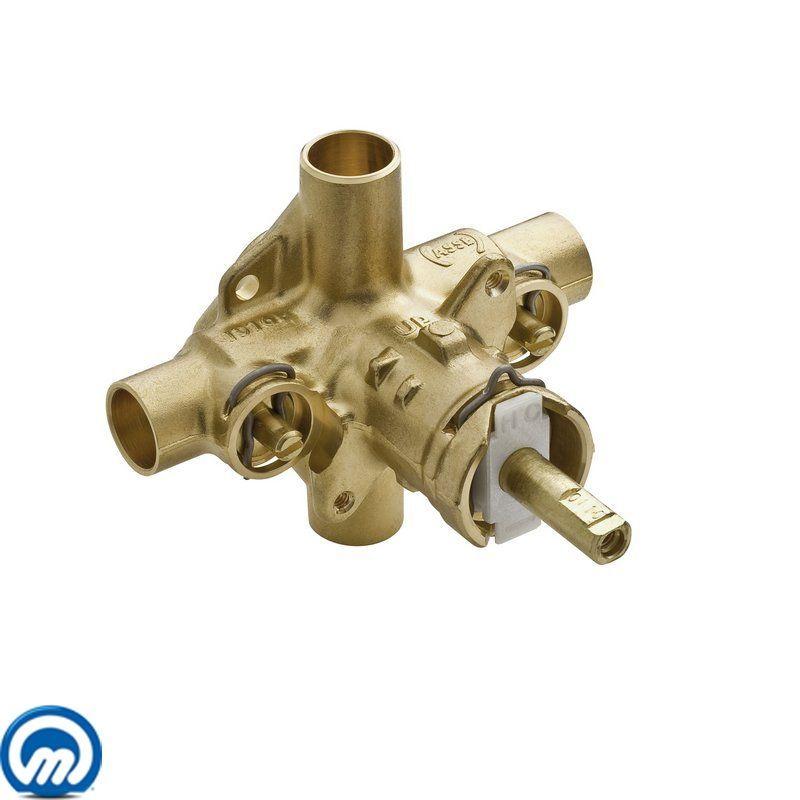 Moen 2570 1/2 Inch Sweat (Copper-to-Copper) Posi-Temp Pressure ...
