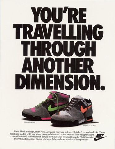 finest selection 9a672 c66e1 Vintage Nike advertisement