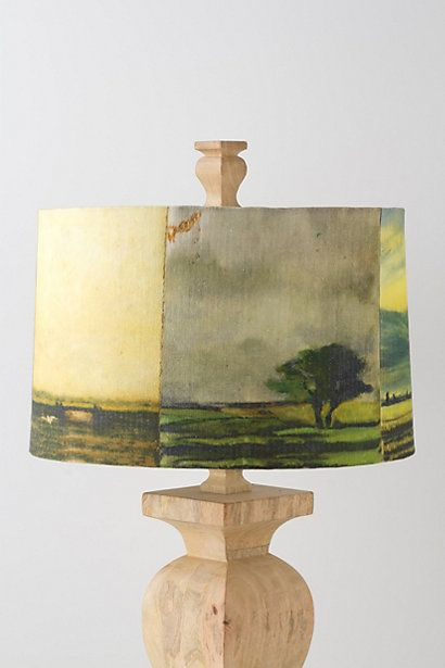 Lamp Shades Near Me Extraordinary This One's Prettybut What A Great It Gives Me To Paint A Landscape Inspiration Design