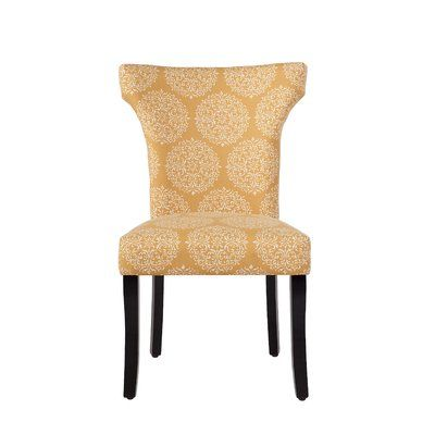 Astounding Charlton Home Hessie Upholstered Dining Chair In 2019 Creativecarmelina Interior Chair Design Creativecarmelinacom