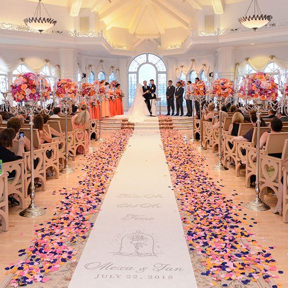Walt Disney World Wedding Spotlight Alexa Ianever After Blog Fairy Tale Weddings