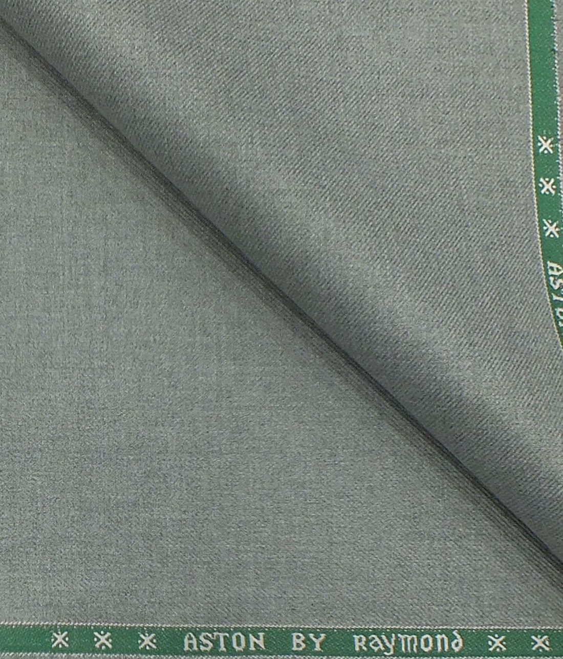 Gentle man Raymond Viscose Unstitched Trouser Fabric Pant Piece Grey and Blue
