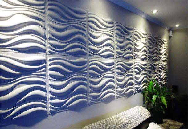 Waves Design 12 Panels Wall Texture Design 3d Wall Panels Decorative Wall Panels