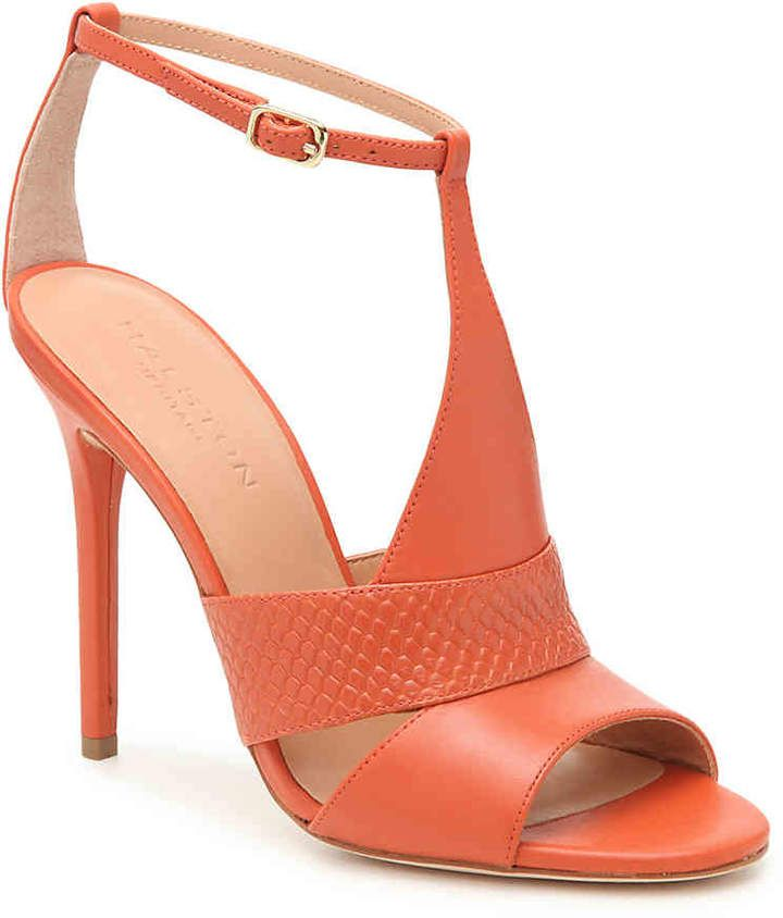 079f75f9439 BEAUTIFUL Halston Heritage Connie Dark Coral Sandal - Women's | Most ...