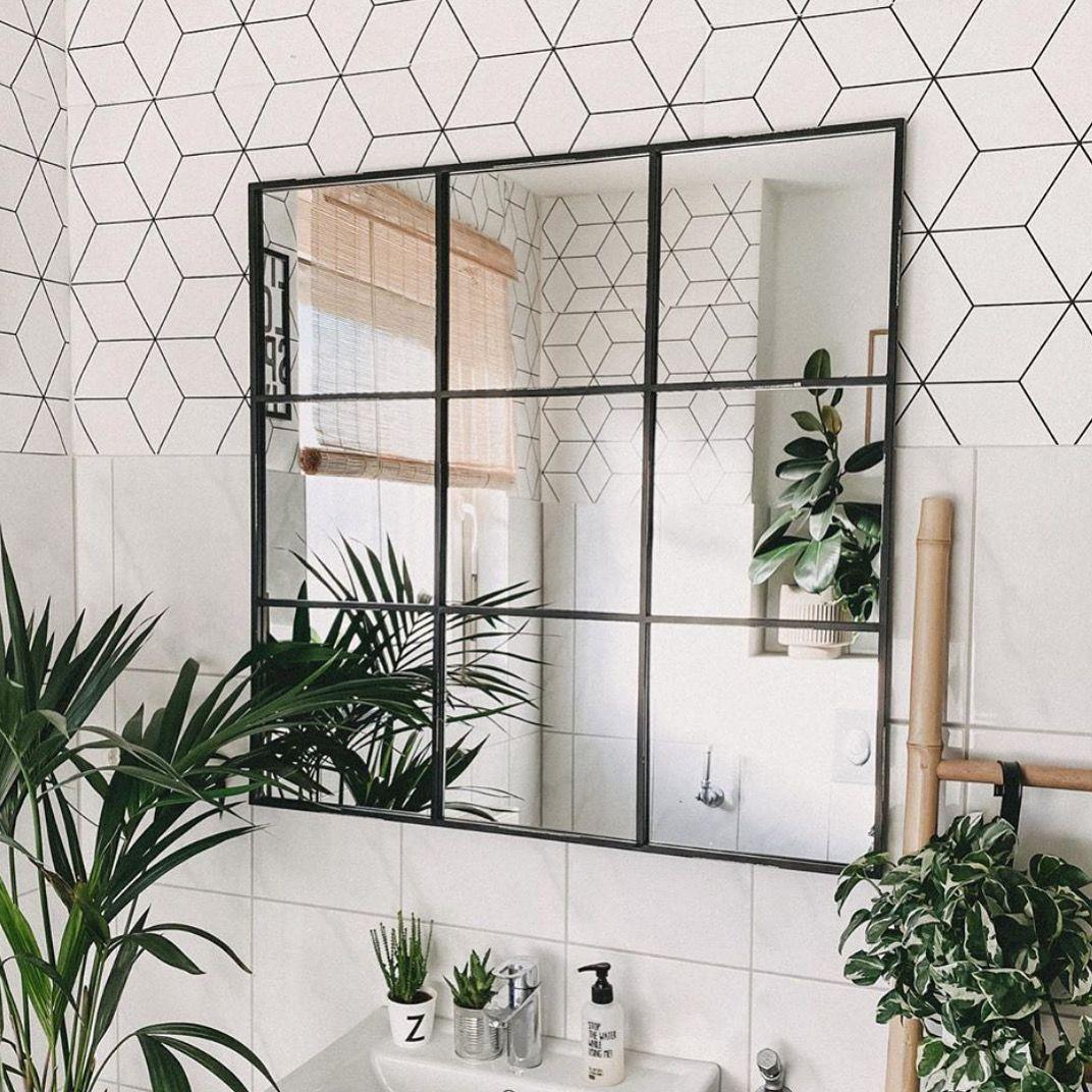 Spiegel Im Industrial Look In 2020 Badezimmer Badezimmer Inspiration Wohnen