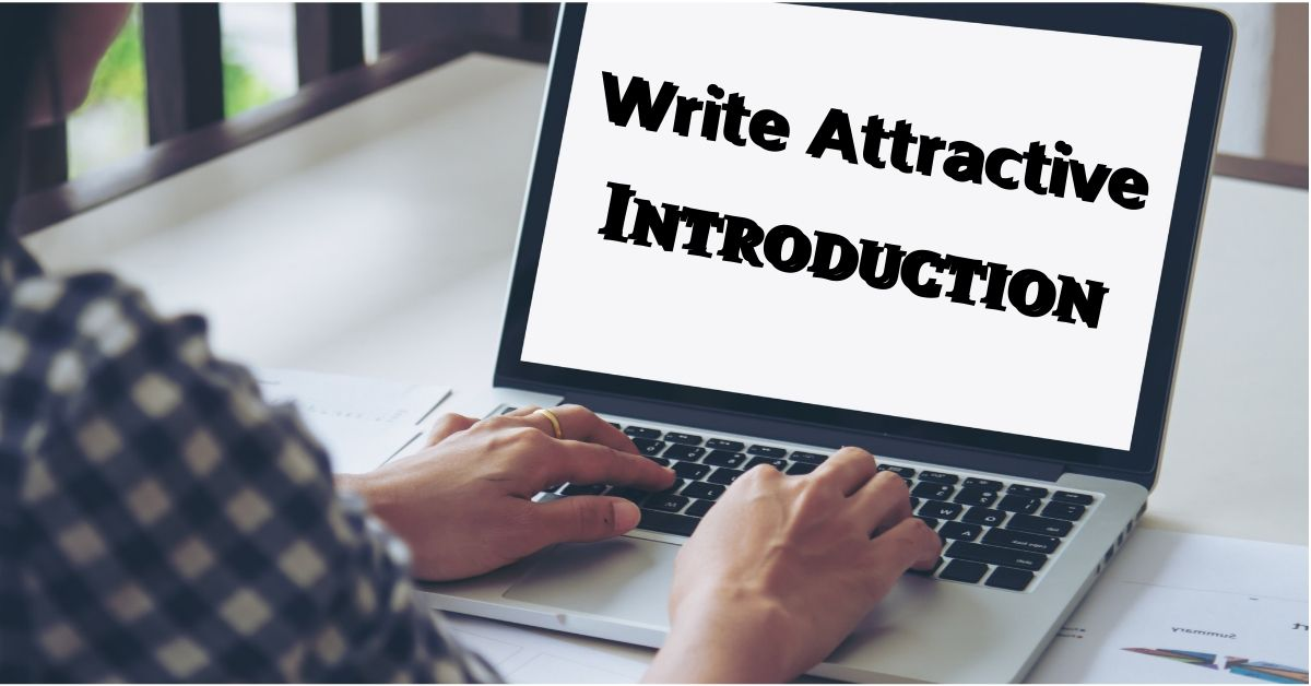 How to Write an Assignment Introduction for College
