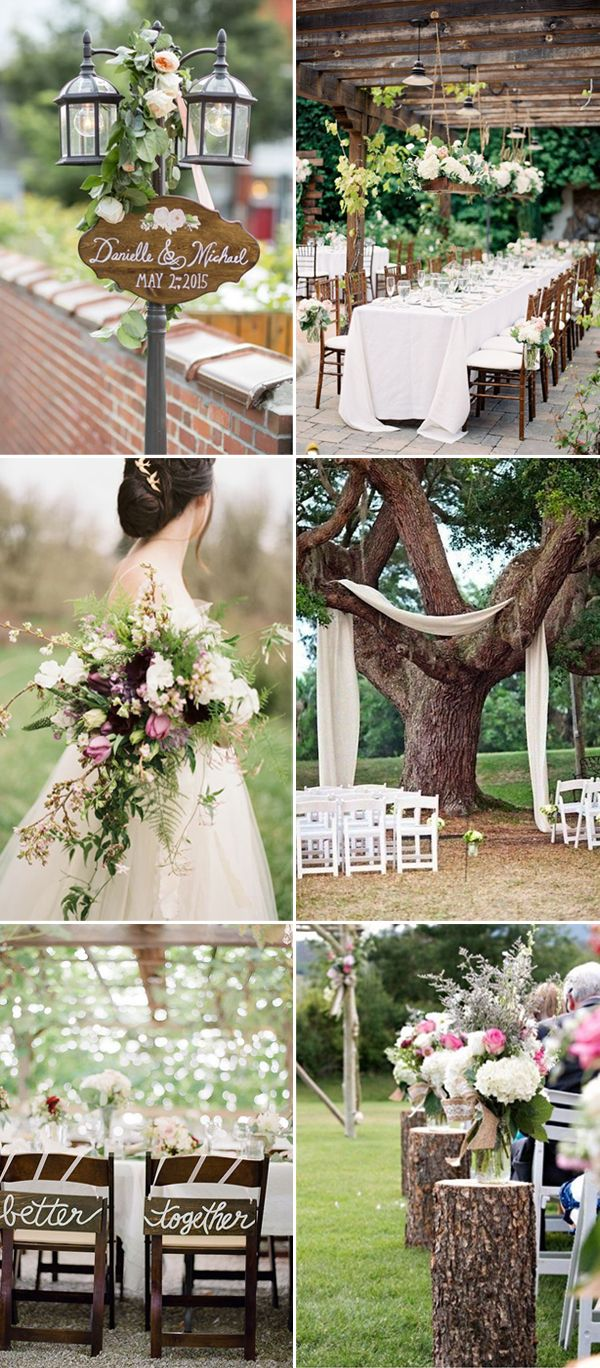 The Best Wedding Themes Ideas For 2017 Summer Vintage Wedding