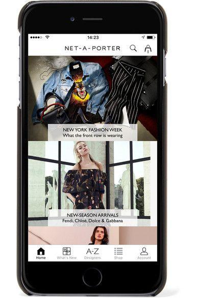 Printed Textured-leather Iphone 7 Case - Leopard print Dolce & Gabbana 1KbDob