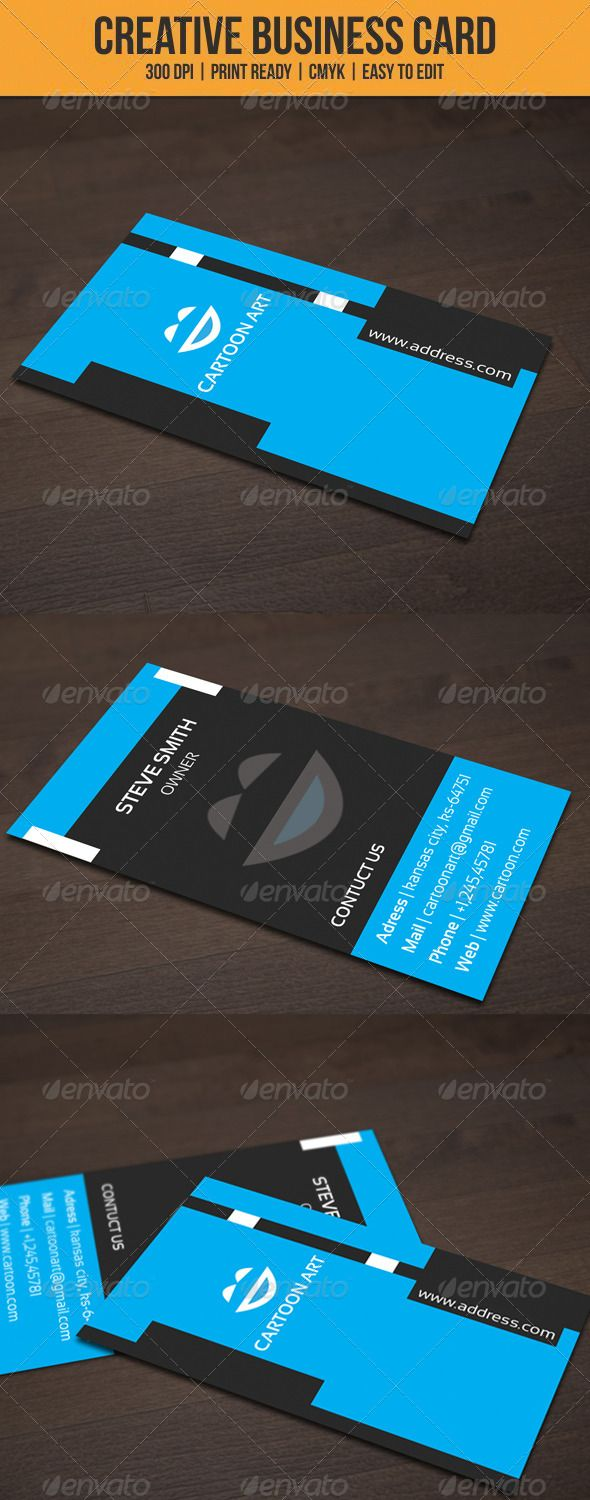 Corporate cartoon art card cartoon business cards and print templates corporate cartoon art card reheart Image collections