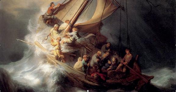 Rembrandt Tormenta En El Mar De Galilea 1667 Gardner Museum Robado Historia De La Pintura Arte Nuevo Tormenta En El Mar