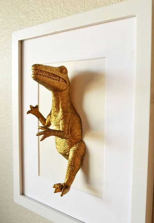This Would Be Cool For The Kids Even As Teenagers I M Sure We Can Find Other Objects To Use This Idea With Cool Kids Rooms Kid Room Decor Dinosaur Room