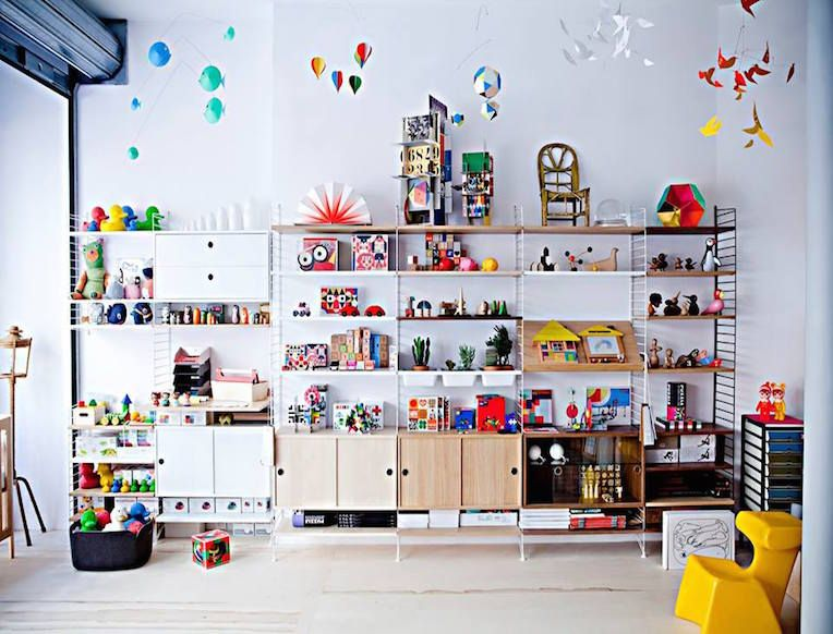 This spot offers an encyclopedic range of every modern home good line you could ever want for your newborn or toddler.