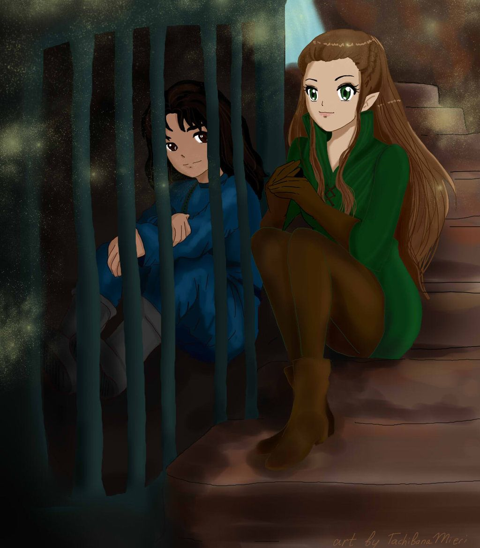 Kili and Tauriel | lotr/the hobbit ART | Pinterest | Kili ...