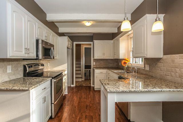 Sherwin Williams Warm Stone White Kitchen Small Kitchen Remodel Prepossessing Small Kitchen Remodels Review