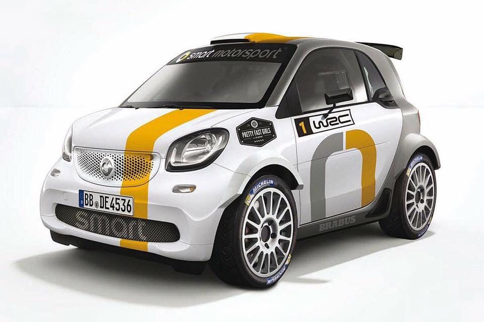 Smart Rally With Images Benz Smart Smart Car Smart Forfour