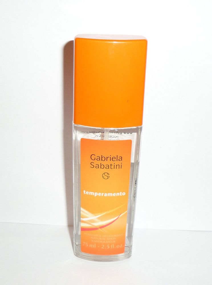 Gabriela Sabatini Temperamento 75ml Dns Very Rare Perfumed Deodorant