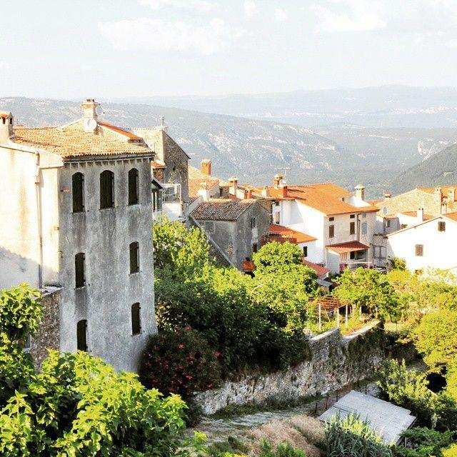 Say hello to Istria! It's time to explore our first stop: Motovun!  #shareistria #istria #motovun #discovercroatia #crostagram