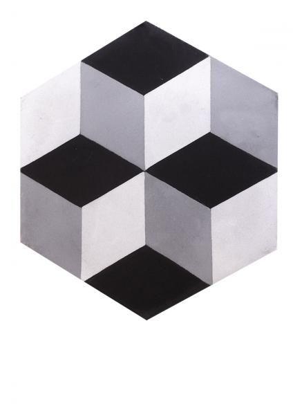 Exceptionnel carrelage ciment hexagone 123   bathrooms   Pinterest   Carrelage  SB82