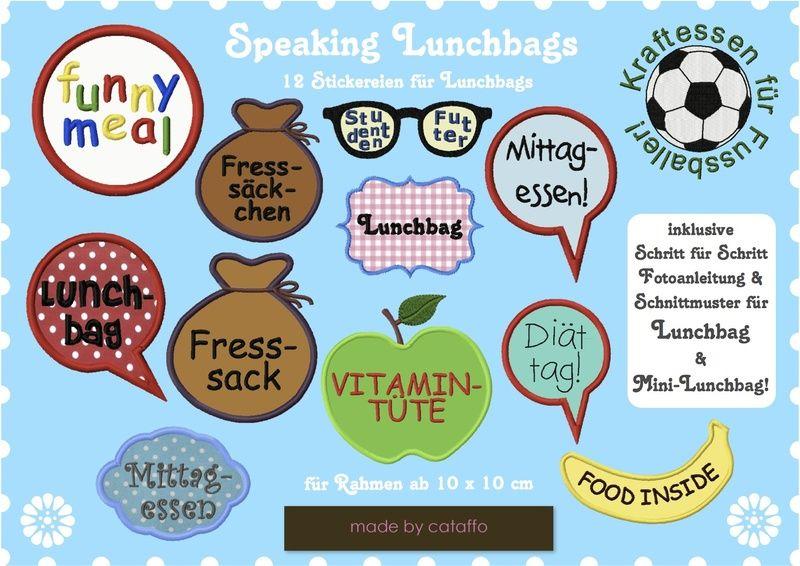 *Super für Märkte!*    ❤ Diese peppigen Lunchbags sind ideal, um Euren Kindern, Männern oder Euch selbst das Frühstück mitzugeben. Mit einem lustig...