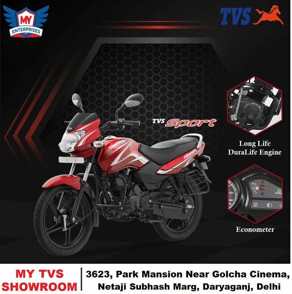Tvs Sport 100cc Bike Price In India