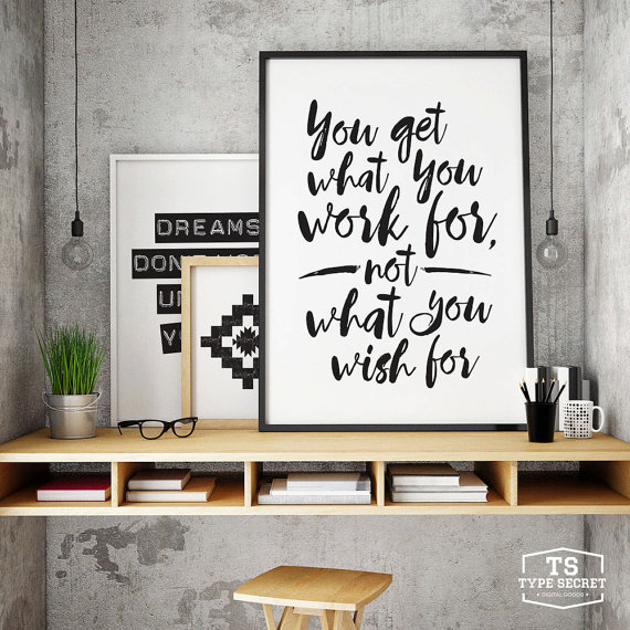 5 Tips How To Decorating An Artistic Home Office: Gift For Graduate, Workspace Decor, Office Decor, Cubicle