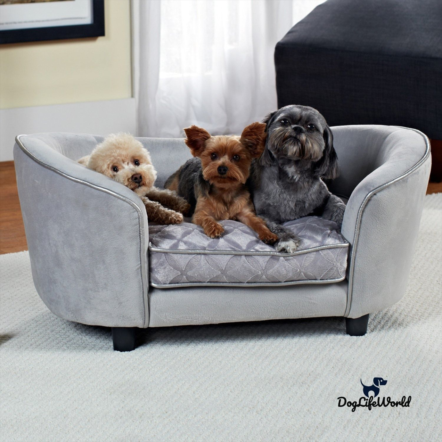 Top 10 Dog Sofa Beds On Amazon Luxury Dog Couch In 2020 Fancy