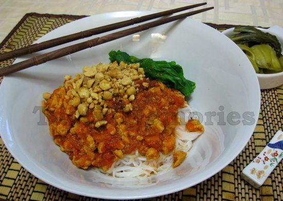 Shan noodles - Burma