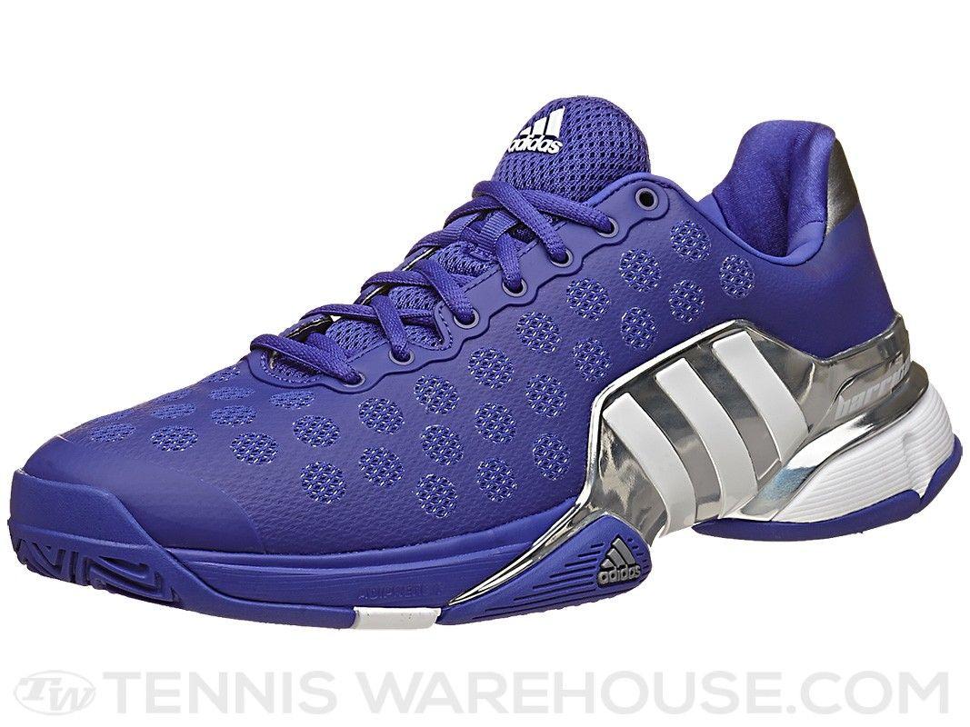 adidas Barricade 2015 Purple/Silver Men's Shoe | Tennis Warehouse ...