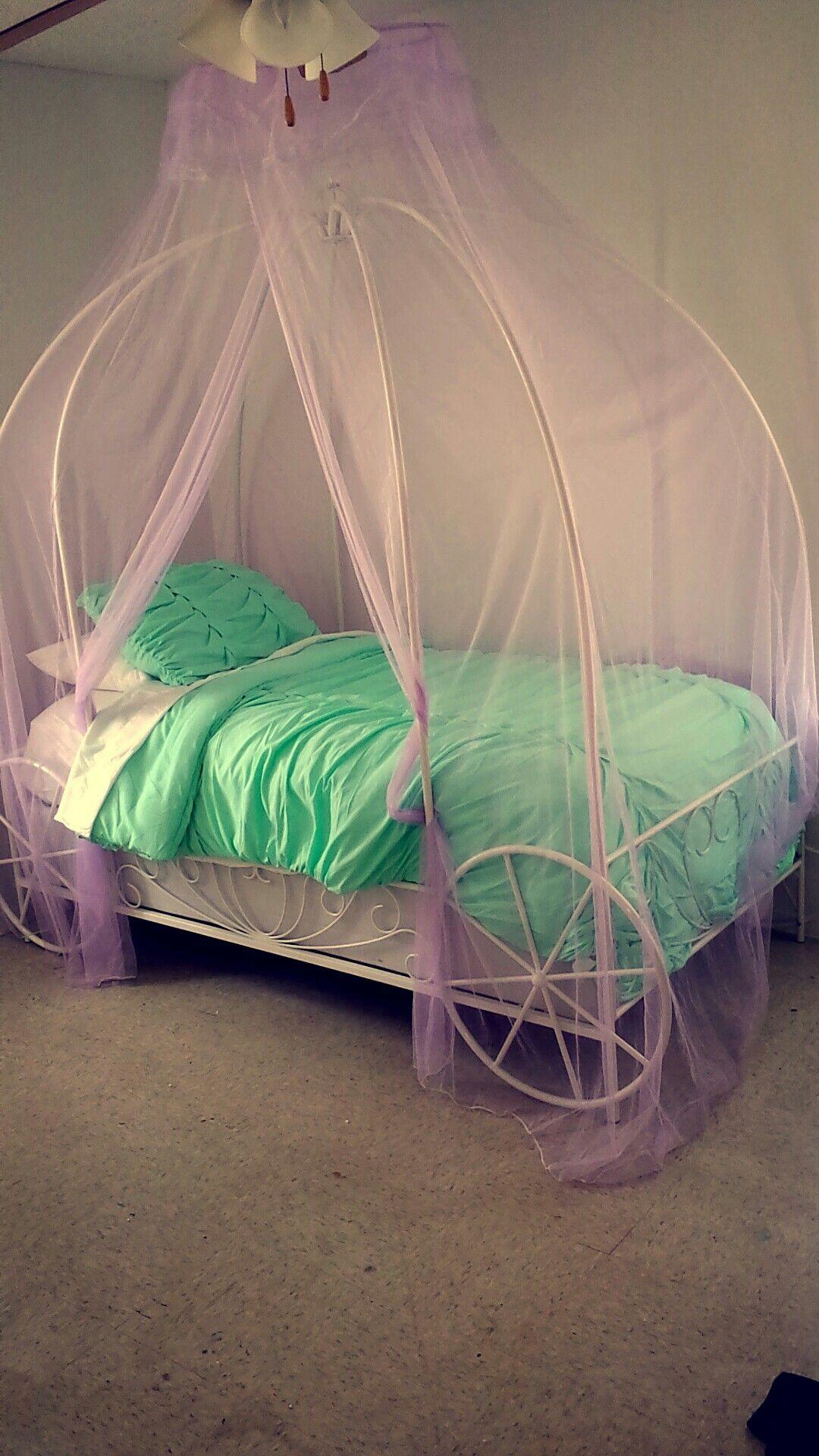 Princess Carriage, Mermaid Princess, Twin Beds, Big Girl Rooms, Girls
