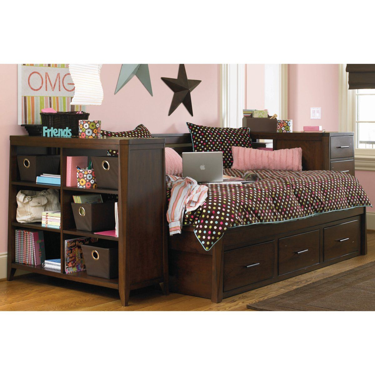 Kendall Storage Daybed Full Gusu room Pinterest Daybed Full