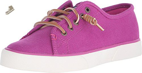Sperry Top-Sider Women's Pier View Seasonal Bright Pink Sneaker 7.5 M (B) - Sperry sneakers for women (*Amazon Partner-Link)