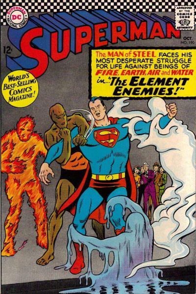 Superman 190 October 1966 en 2020 Bande dessinée