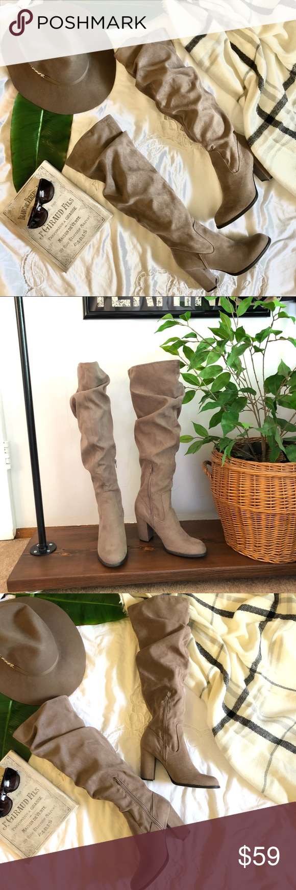 704d41c6381 Madden girl faux suede slouchy boot. Size 9. NWOT. Madden girl ...
