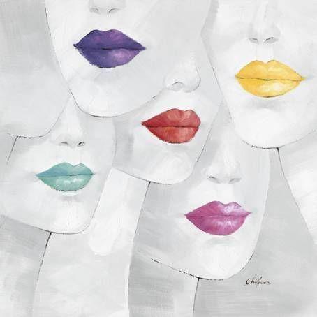Modern Arts - Beautiful Kiss Canvas Print - Ready to Hang