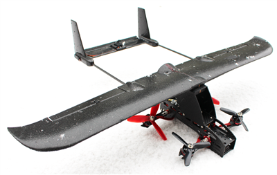 XRay VTOL Nano Skyhunter Wing Conversion Kit | RC Flying