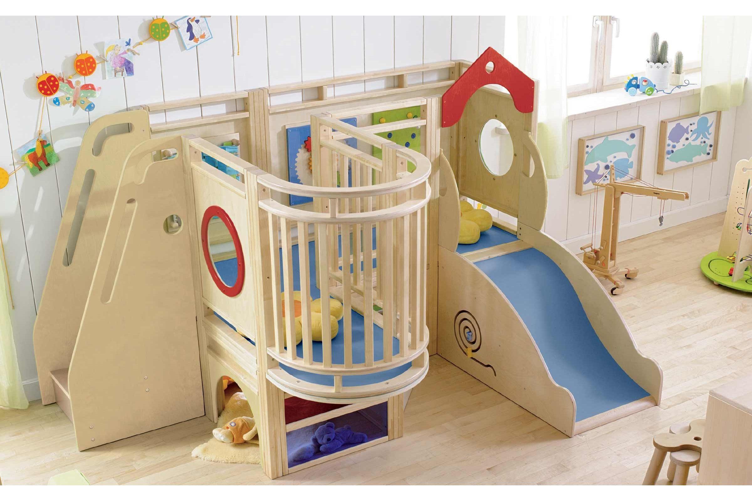 Snail House Toddler Modular Activity Play Loft | Grocare New ...
